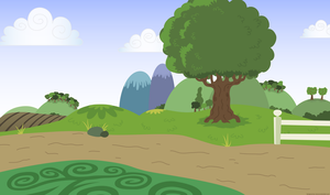 Background without ponies - PNG by Larsurus
