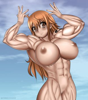 Nami Nude by elee0228