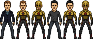Eobard Thawne is the Reverse Flash by SpiderTrekfan616