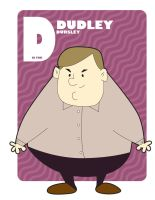 D is for Dudley Dursley by jksketch