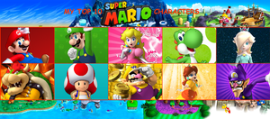 My Top 10 Super Mario Characters Meme by FTFTheAdvanceToonist