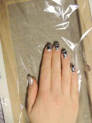 Music Nail Art II by LadyxOfxLight