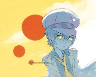 Persona 4: Shadow Naoto by OffTheChain2