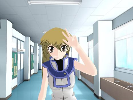 MMD (Yugioh! GX)  _ This Little Girl  +DL by animerelax1