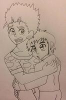 Vash and wolfwood by Ashartz123