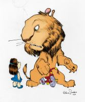 chris sanders pic colored by m by jaquenettalove