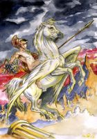 Greek Mythology : Perseus by emalterre
