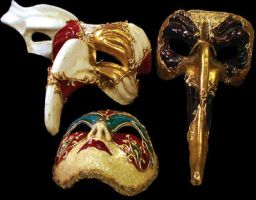 venice masks by WalterMB
