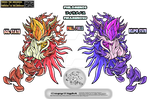 sa2 Philomenos fall form sol and eclipse state by Sa2artist