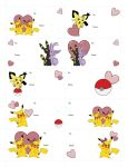 Pokemon Valentine Gift Tags by MeMiMouse