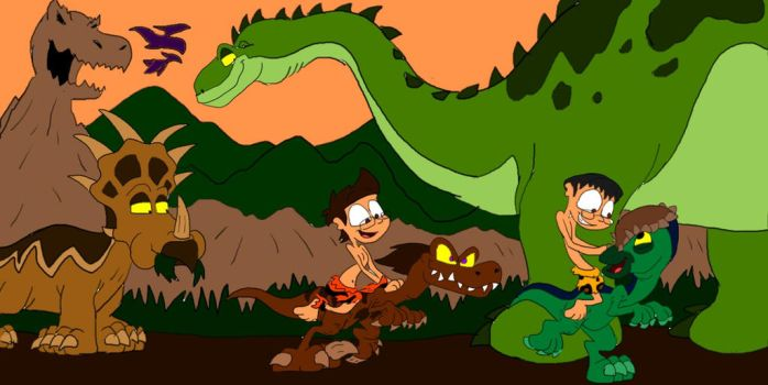 Lost Valley Dino Race by SammyD-Productions