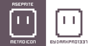 Aseprite Metro Icons (384x384) by DarkPro1337