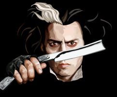 Johnny Depp Vector by sunset-accident