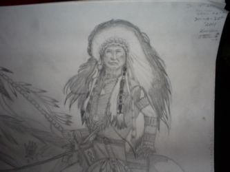 Indian Warrior Chief.. by KyloMutt