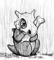 Inktober 2016 Day 5: Sad Cubone