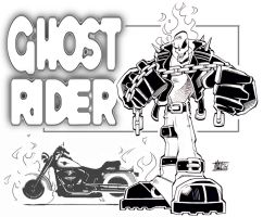 Ghost Rider by scupbucket