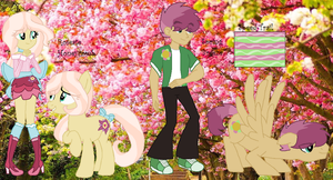 MLP Roseate Honeycomb and Spring Breeze (Digital) by HuskyRBTorchick