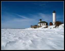 Tibbetts Point Lighthouse wint by cove314