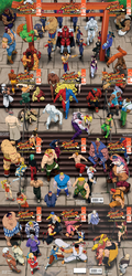 Street Fighter: All Together by True-BackLash
