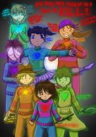 Undertale - The Human Souls by LucarioYoshi88