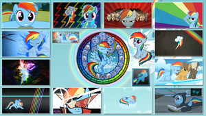 Rainbow Dash Stained Wallpapers by GT4tube