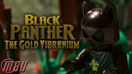 Black Panther: The Gold Vibranium [BRICKFILM] by JamPotStudios