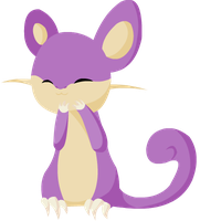Simply Cute - Rattata by alicesstudio