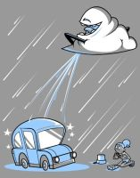 Nature is a Jerk - Rain is a Jerk by cgianelloni
