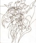 Arc-V: The Fairy and The Dragon (Sketch) by NeonNeoz
