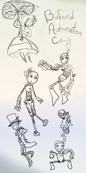 Buford Automatons by lunarcloud