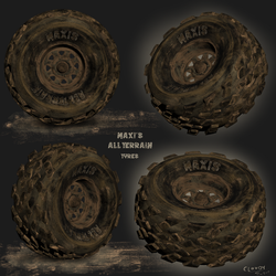 Maxi's All Terrain Tyres by Cloudy-0w0