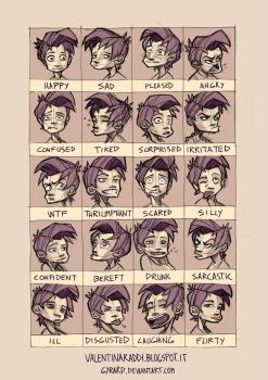 24 Expressions by Gyrard
