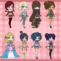 [AUCTION] Adoptable Batch EDIT [CLOSED] by Chancetodraw