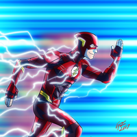 The Flash! by jonathanserrot