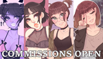portrait commissions / OPEN by madeIine