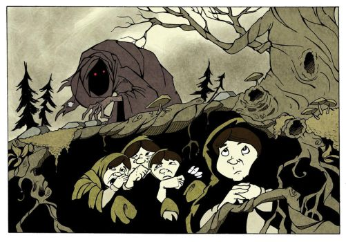 Hiding Hobbits by WILLEYWORKS