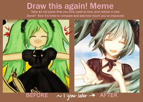 Draw this again meme /o/ by sealartonline