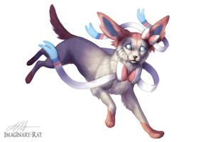 Eevee Week - Sylveon by Imaginary-Rat