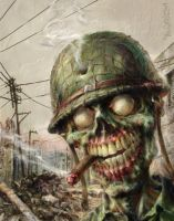 ZOMBIE Sarge War of the Dead by TheGurch