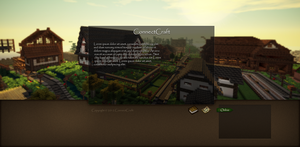 Webdesign Concept - ConnectCraft.de [Minecraft] by At-MsUpload