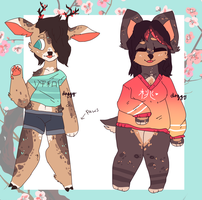 aesthetic adopts//open by snailbits