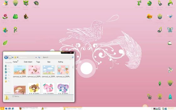 GAIA09 Desktop by MagicalGirlYossy
