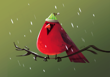 Cardinal by Splendoodle