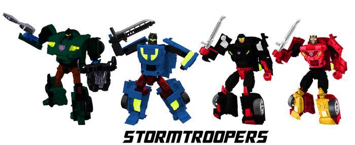 Digibash POTP Stormtroopers by leokearon