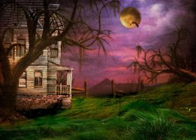 House on Spooky Plain by MerCave