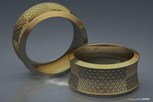Testured Ring Band by JeremyMallin