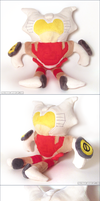 Transformers MTMTE Chromedome Plush by Mazzlebee