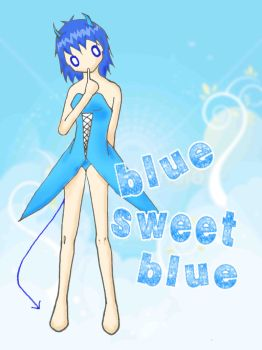 Blue Sweet Blue by Lisa-Art