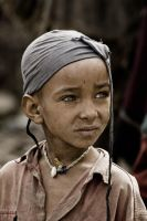 Tigray Child Portrait Ethiopia by Tenbult