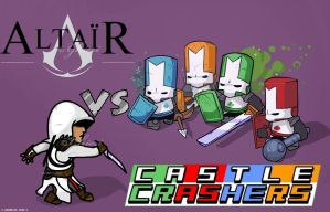 Altair vs Castle Crashers by Ghieri
